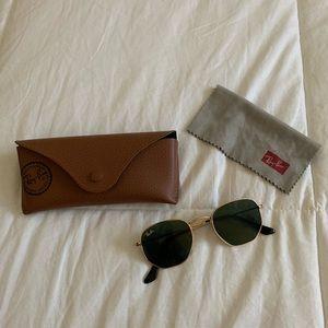 Hexagon Rayban Sunglasses
